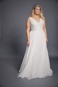 Grace wedding dress by Amaline Vitale available in Adelaide