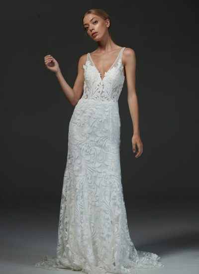 Hera Cuture plus size wedding dresses Adelaide Bosset gown
