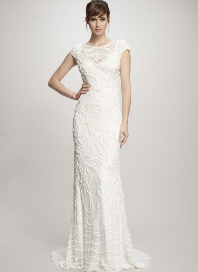 Gia beaded wedding dress by Theia in Adelaide