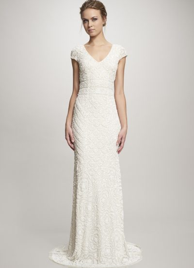 Lilia beaded wedding dress by Theia Adelaide available at The Bride Lab