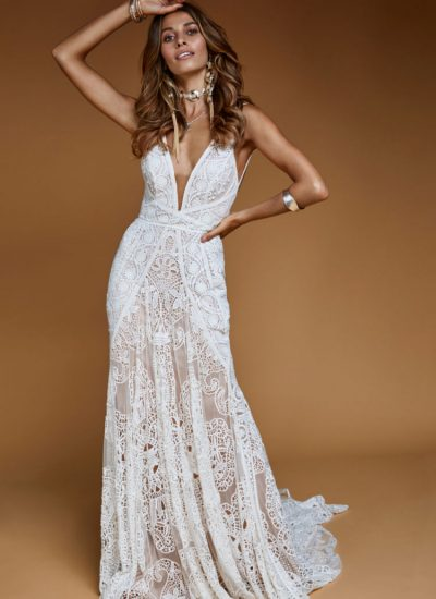 Sequoia boho wedding dress by Rue De Seine available in Adelaide