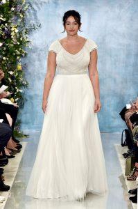 Plus size wedding dresses Adelaide Theia Nava