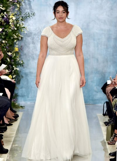 Plus size wedding dresses Adelaide Theia Nava